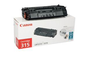 CANON CART315 TONER CARTRIDGE BLACK