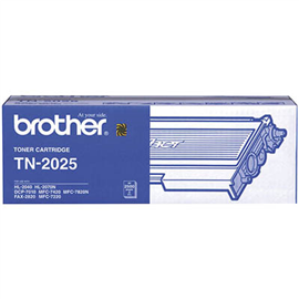 BROTHER TN2025 TONER CARTRIDGE BLACK