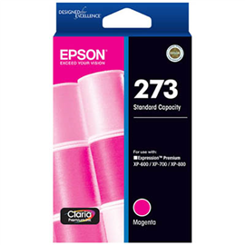 EPSON 273 INK CARTRIDGE MAGENTA