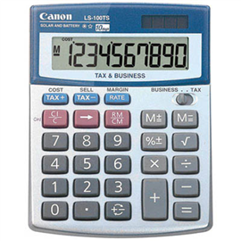 CANON DESKTOP CALCULATOR LS100TS 10 DIGIT