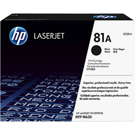 HP CF281A 81A TONER CARTRIDGE BLACK