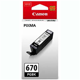 CANON PGI670 INK CARTRIDGE BLACK